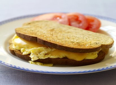 Two Egg & Cheese Sandwich