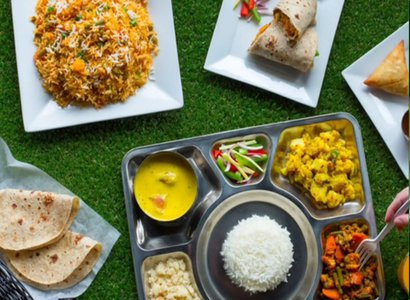 The Vegetarian Thali