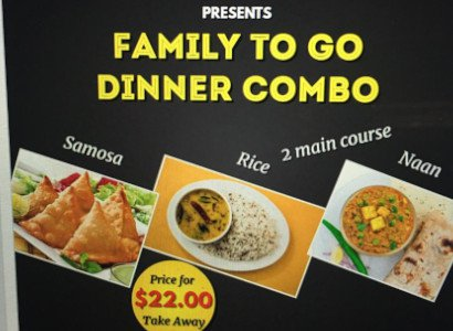 Family to go dinner combo
