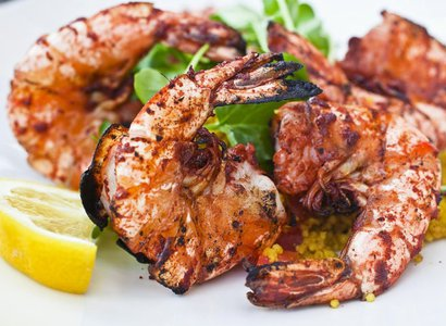 Tandoori Shrimp and Avacado
