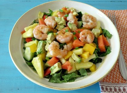 Mango Pineapple Shrimp