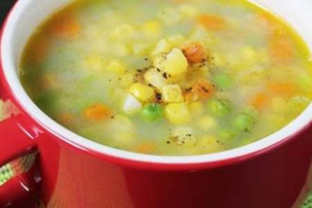 SWEET CORN SOUP(VEG)