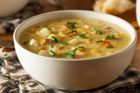 SWEET CORN SOUP(CHICKEN)