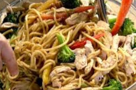 SZECHUAN NOODLES (CHICKEN)