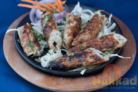 CHICKEN RESHMI SEEKH KEBAB (NV)