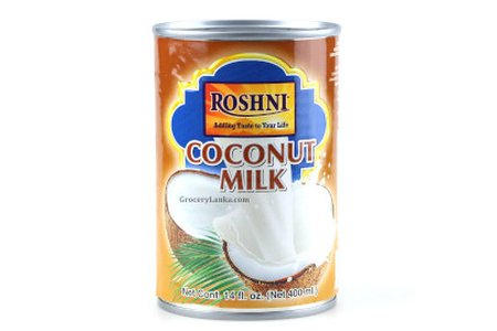 ROSHNI COCONUT MILK  400ml (13.5oz)