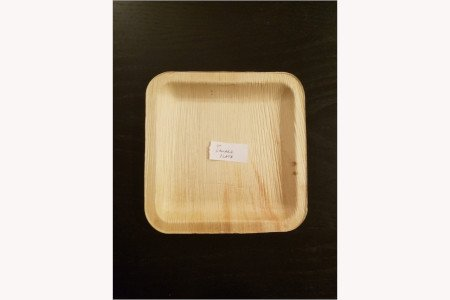 "7"" square plate(Pack)"