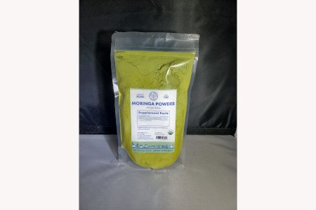 Pure India Food Organic Moringa Powder (8 oZ)