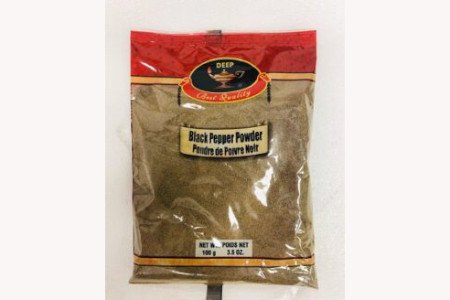 Deep Black Pepper powder  100g