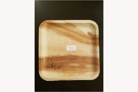 "10"" square plate(Pack)"