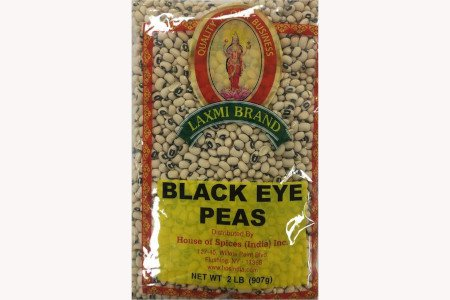 Laxmi Black Eye Peas 2 Lb