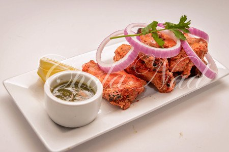 Tandoori Wings(Six wings) (Gluten Free)
