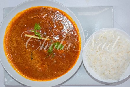 Fish Mango Red Curry - Pondicherry Style  (Hot & Spicy)