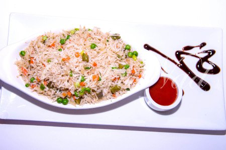 Vegetarian Fried Rice (Gluten Free)