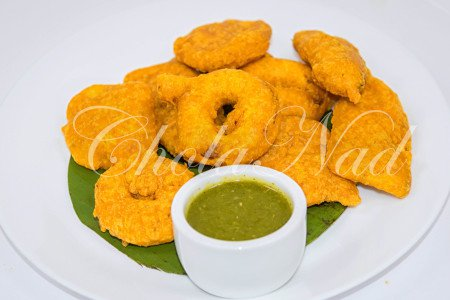 Assorted Bajji (Vegan, Gluten-Free)