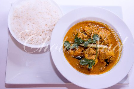 Gobi Chettinad  (Hot & Spicy, Vegan)