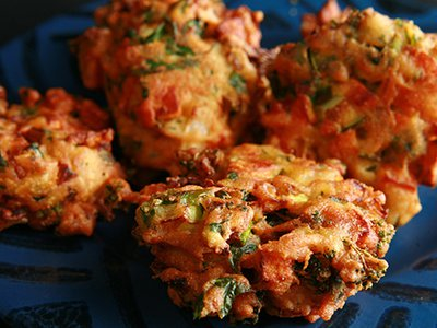Mixed Vegetable Pakoras(V)