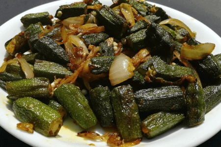 Bhindi Do Pyazza