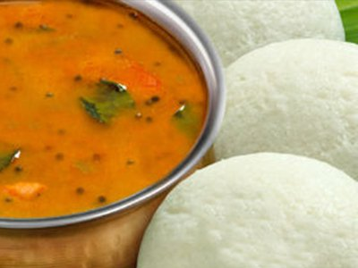 Mini Idli Sambar (8 pcs )